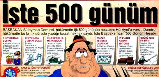 İşte 500 günüm