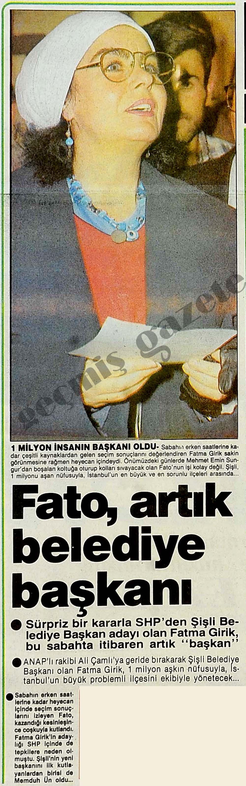 Fato, belediye başkanı