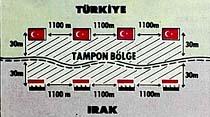 Türk-Irak sınırı yeniden çiziliyor...