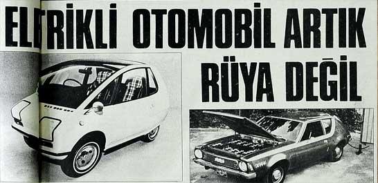 Elektrikli otomobil artık rüya değil