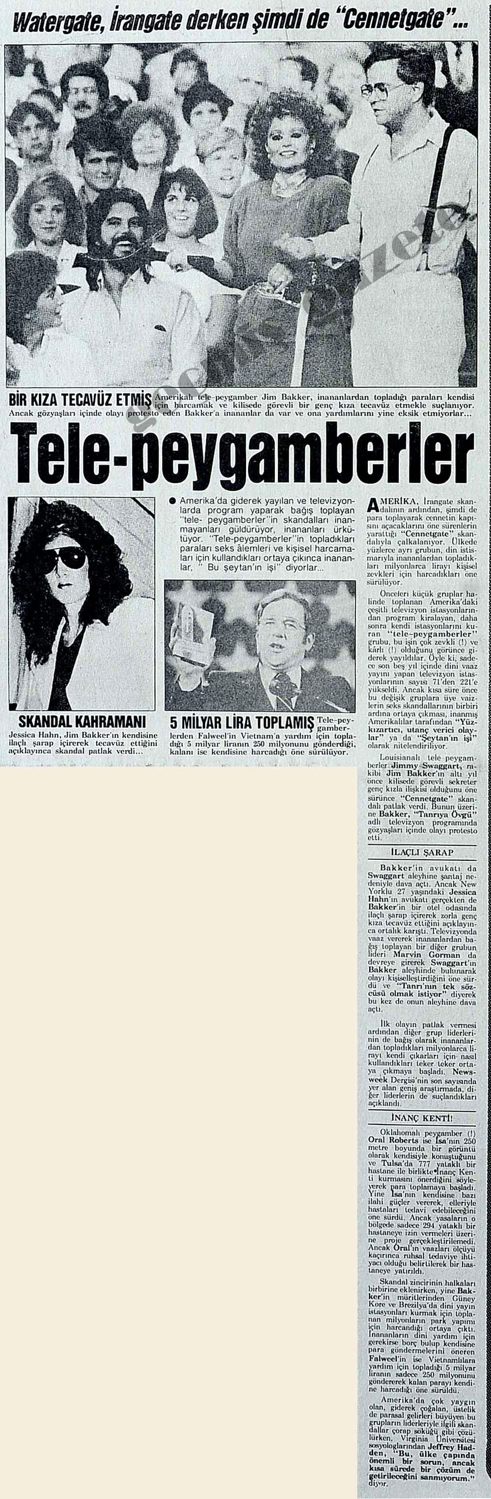 "Watergate, İrangate derken şimdi de ""Cennetgate""..."