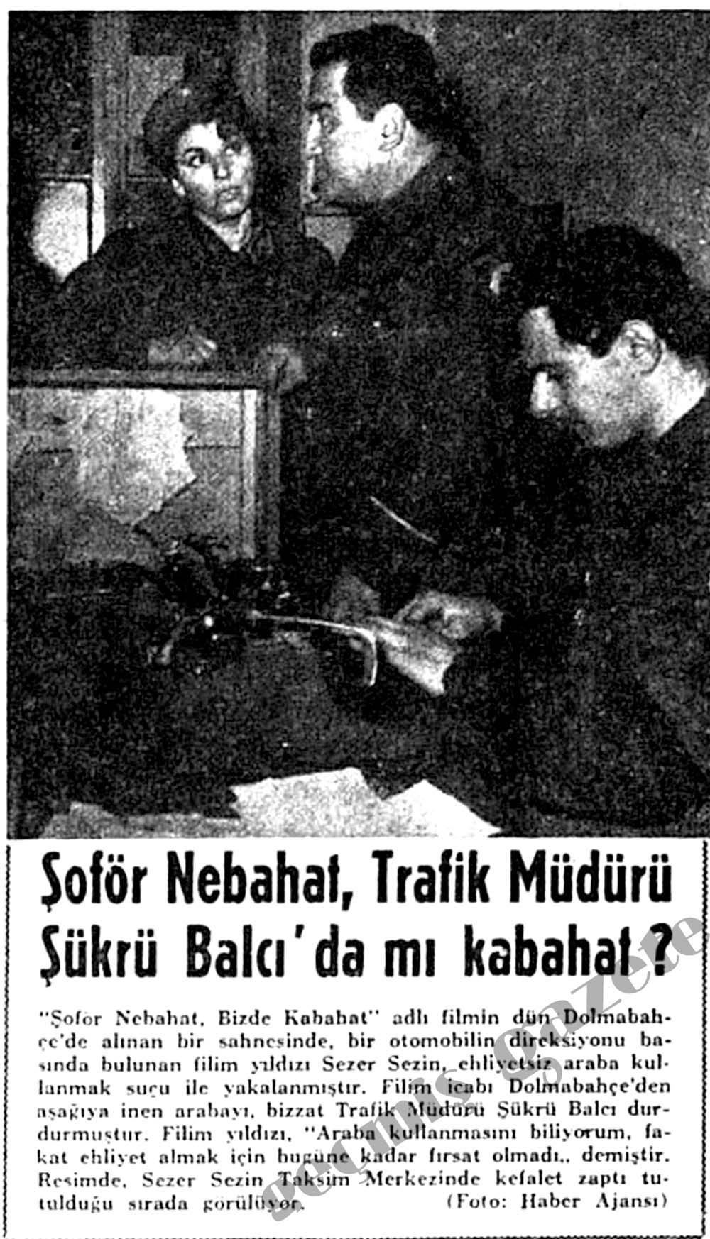 Şoför Nebahat, Trafik Müdürü Şükrü Balcı'da mı kabahat?