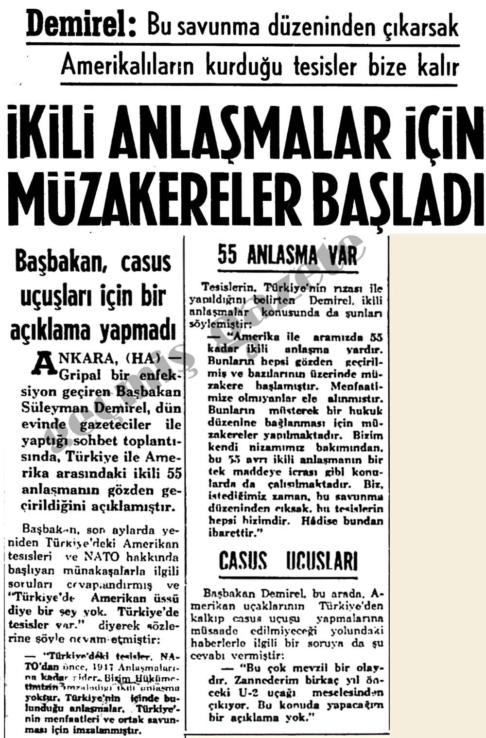 """""""Türkiye'de Amerikan üssü diye bir şey yok. Türkiye'de tesisler var"""""""