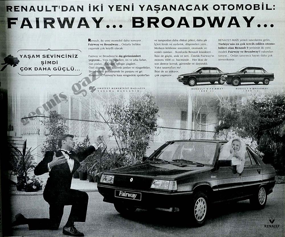 Renault'tan iki yeni yaşanacak otomobil: Fairway...Broadway...