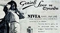 Gezinti, spor ve oyunda Nivea kremi veya yağı