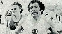Maratondaki gururumuz Veli Ballı Atina'da 1. geldi