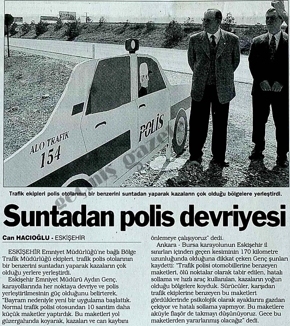Suntadan polis devriyesi