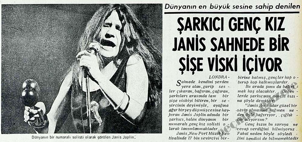 Şarkıcı kız Janis