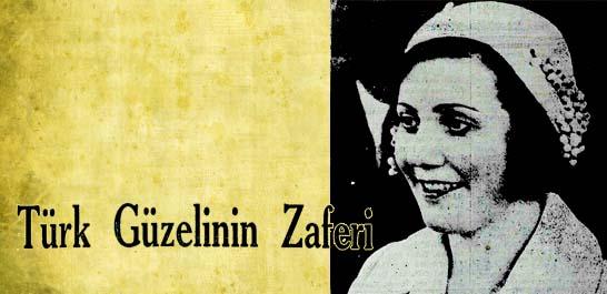 1931 senesi Türkiye Güzellik Kraliçesi Naşide Saffet Hanım