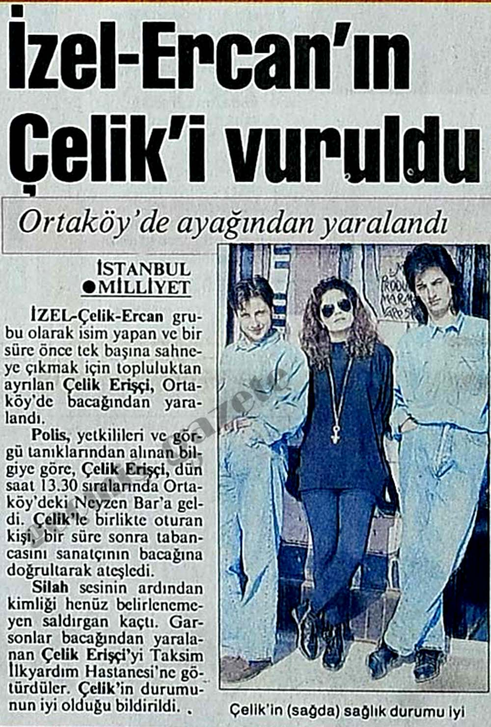 İzel-Ercan-Çelik