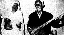 95 yaşındaki Timur Dede altıncı evliliğinin birinci yıldönümünü sazlı-sözlü eğlence ile kutladı
