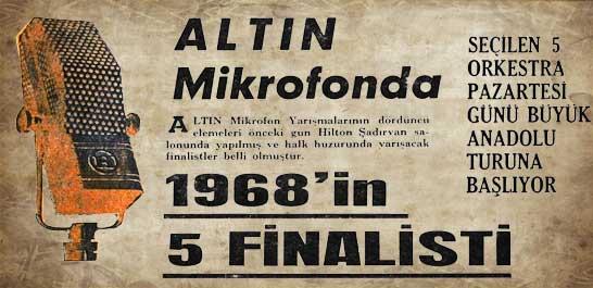 1968'in 5 finalisti