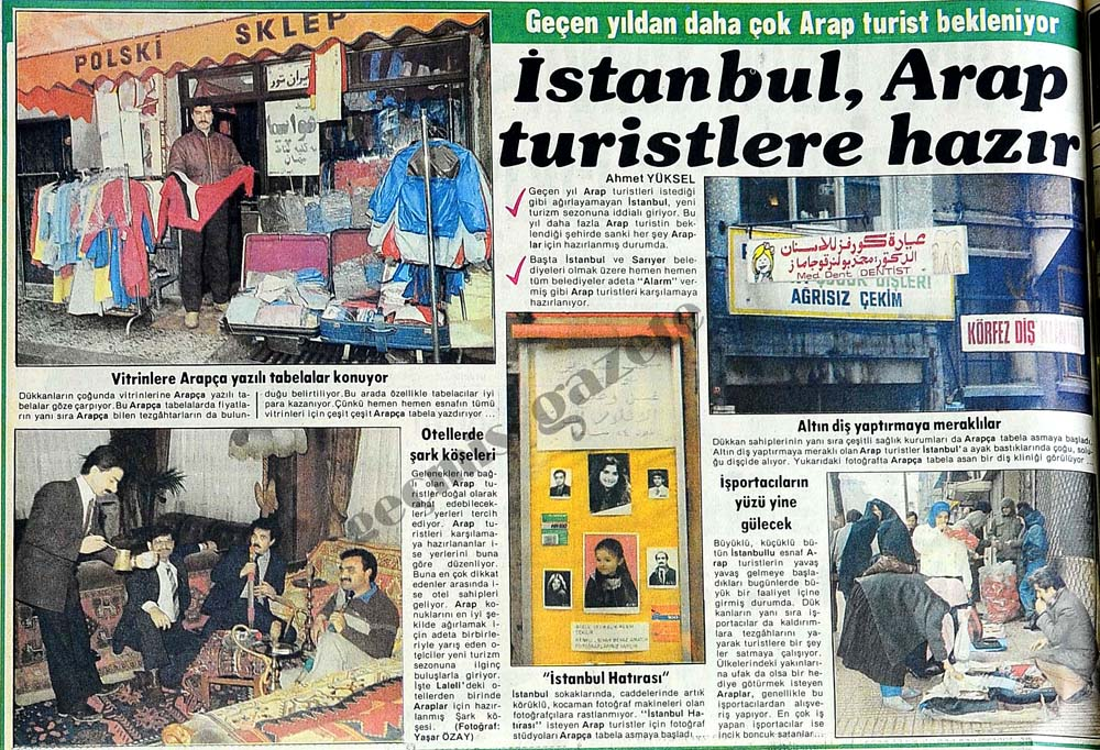 İstanbul, Arap turistlere hazır