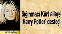 Sığınmacı Kürt aileye 'Harry Potter' desteği
