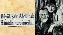 Büyük şair Abdülhak Hamidin tercümeihali