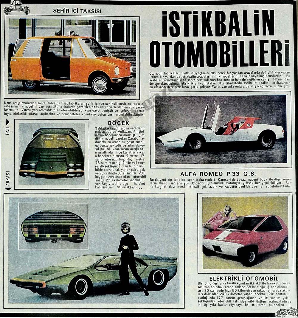 İstikbalin otomobilleri