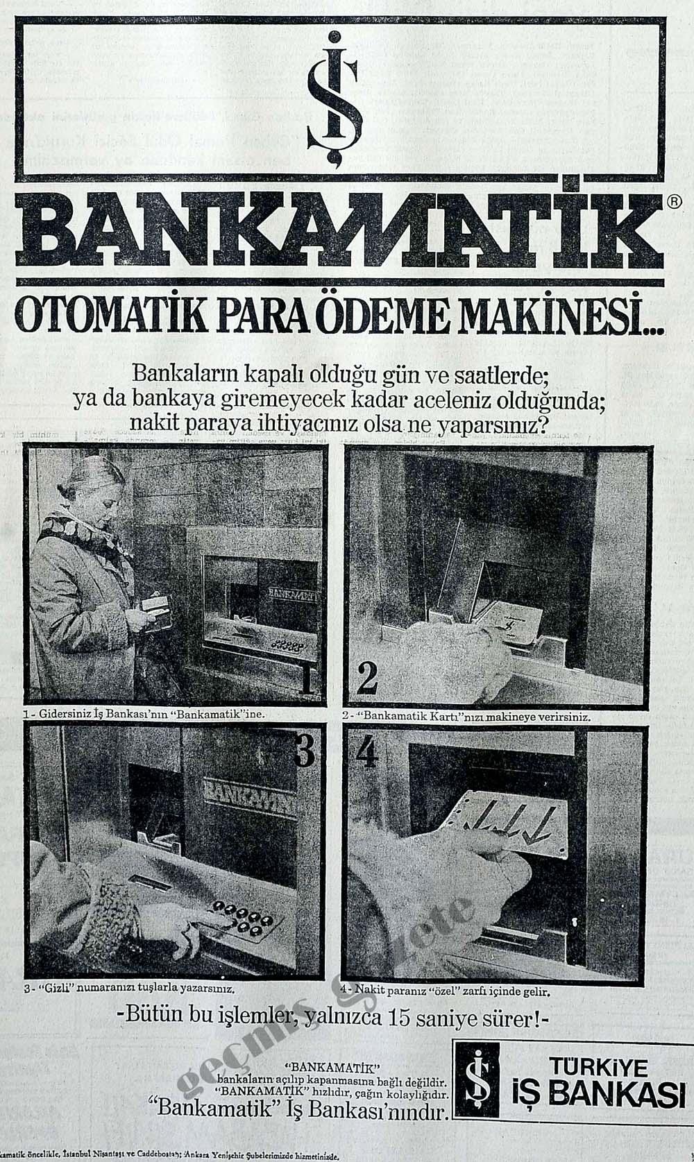 Bankamatik Otomatik Para Ödeme Makinesi...