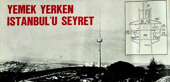 """Çamlıca'da """"TV"""" kulesi"""