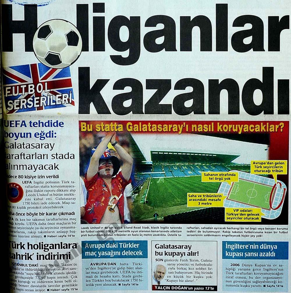 UEFA tehdide boyun eğdi