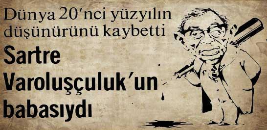 Sartre öldü