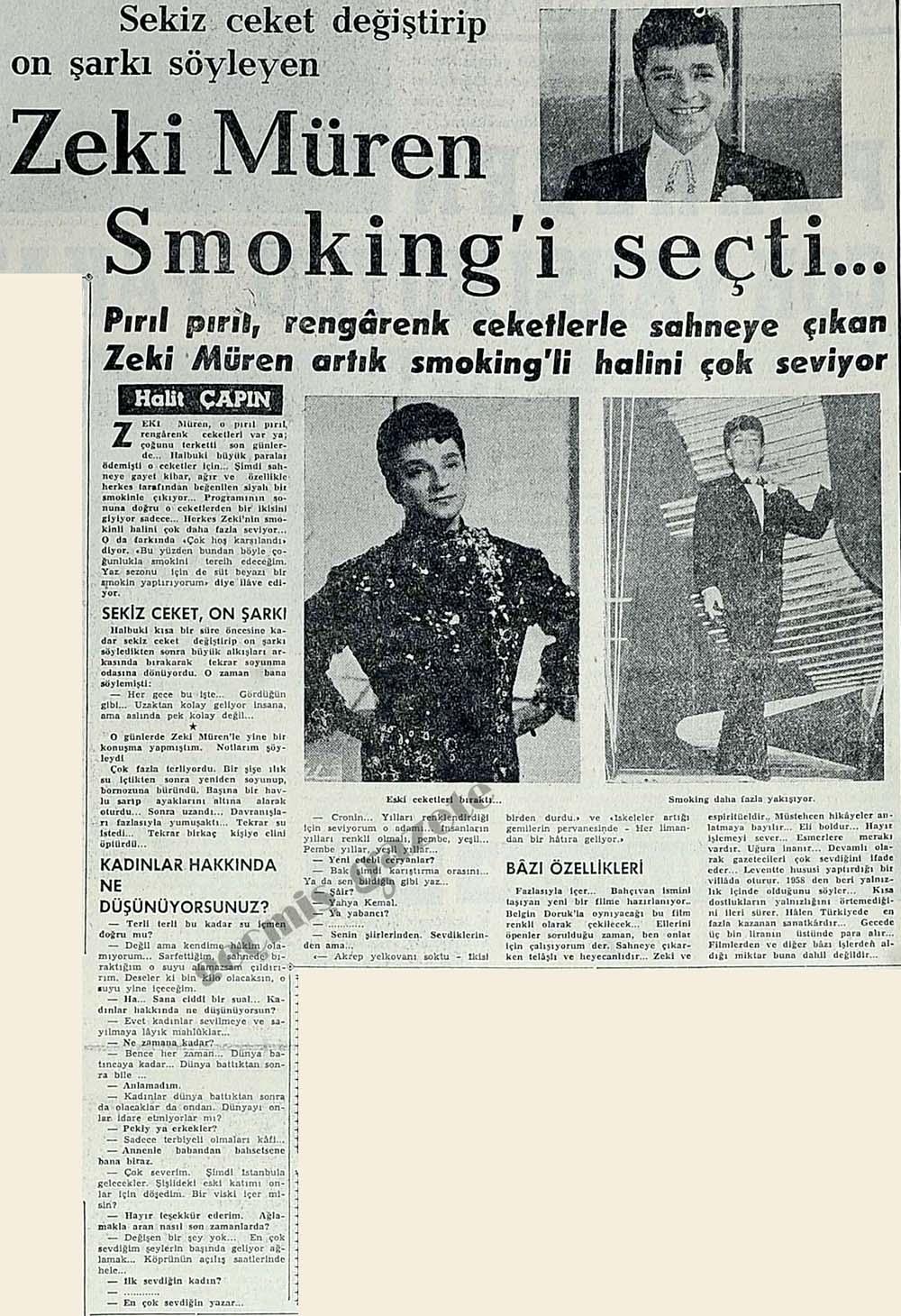 Smoking'i seçti...