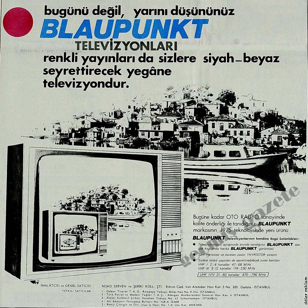 Bugünü değil, yarını düşününüz Blaupunkt Televizyonları