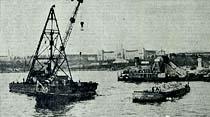 Modern Haydarpaşa limanının temeli dün merasimle atıldı