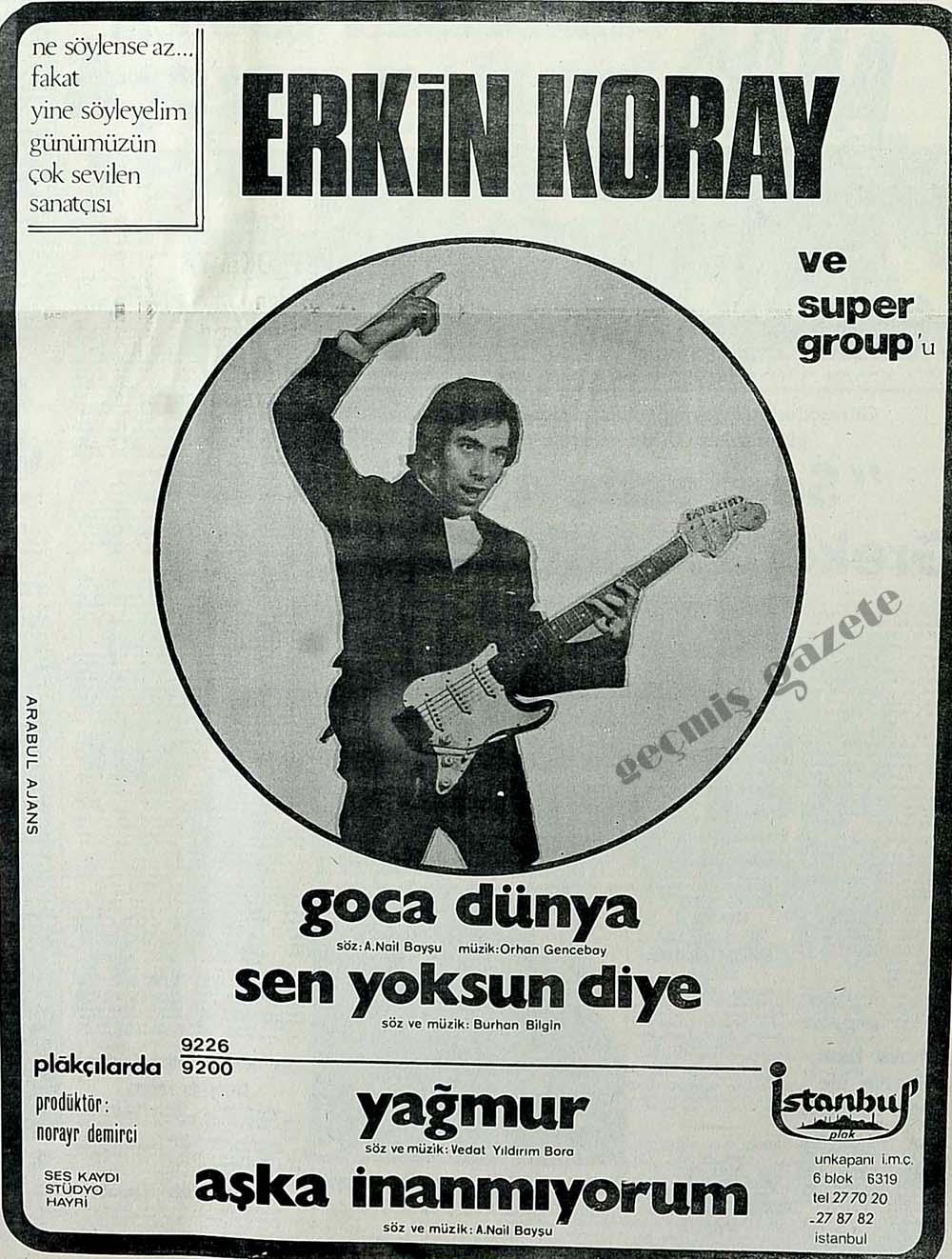 Erkin Koray ve super group