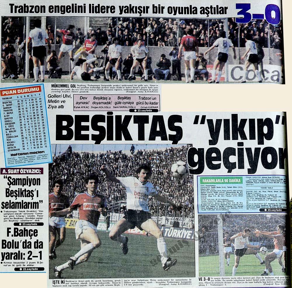 Beşiktaş ''yıkıp'' geçiyor