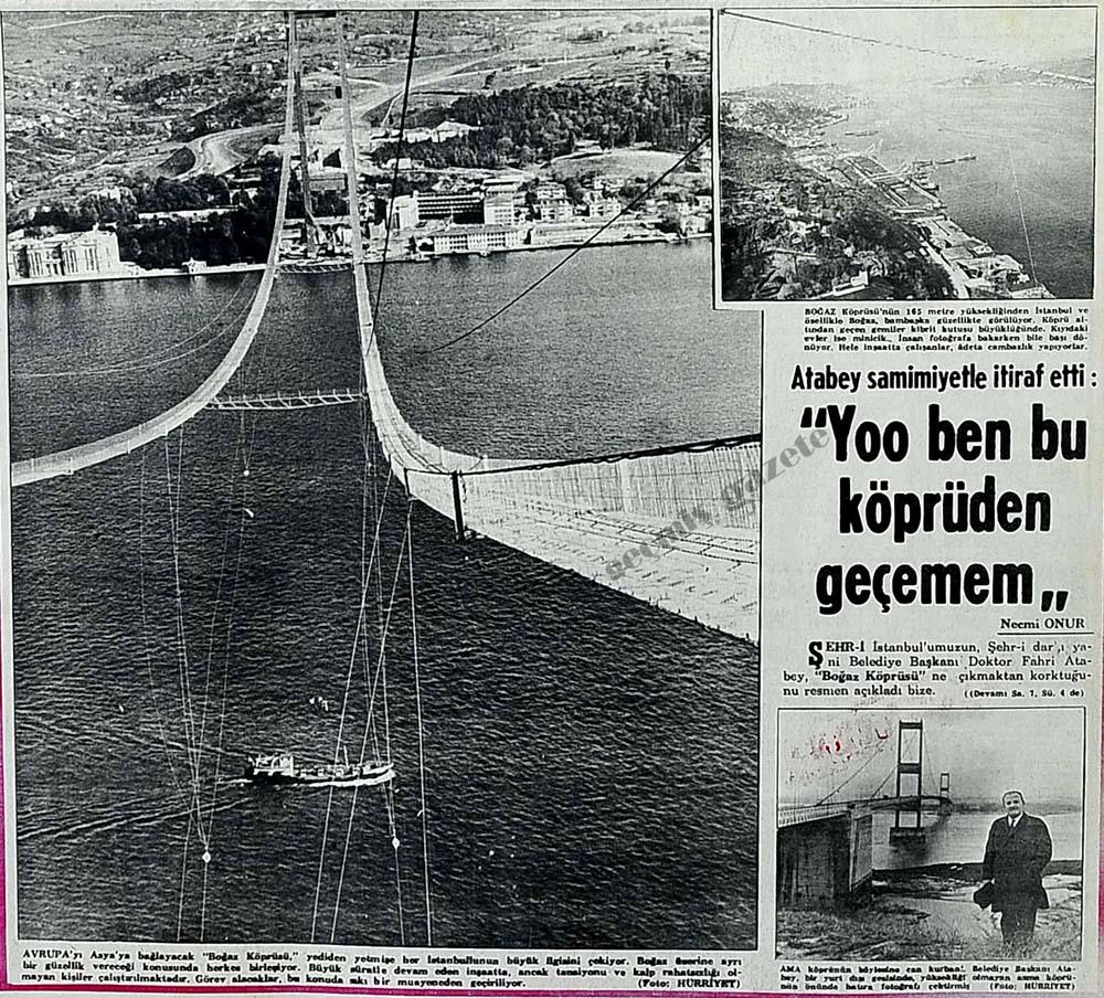 ''Yoo ben bu köprüden geçemem''