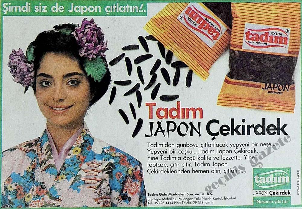 Şimdi siz de Japon çıtlatın!..