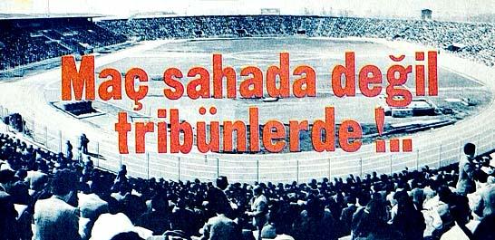 Sınav mecburen stadyumda yapıldı