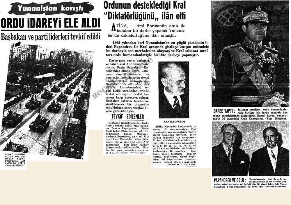 """Ordunun desteklediği Kral """"Diktatörlüğünü"""" ilan etti"""