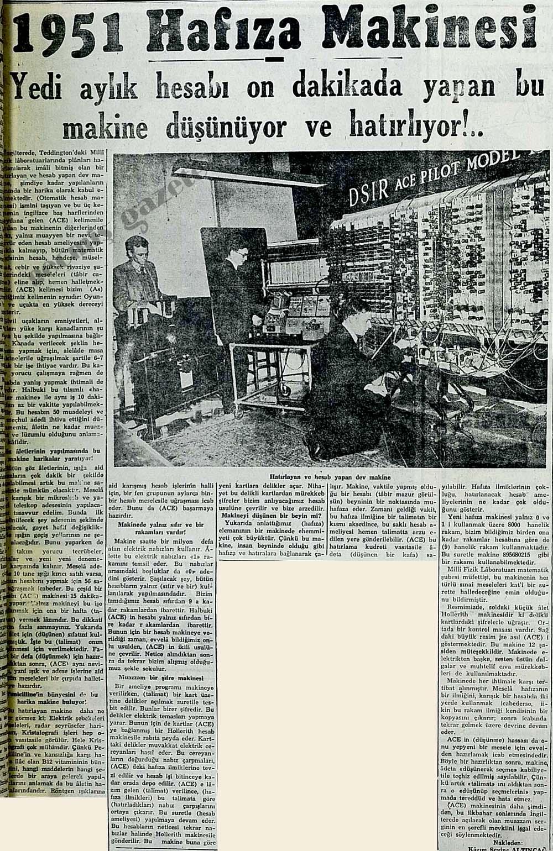 1951 Hafıza Makinesi