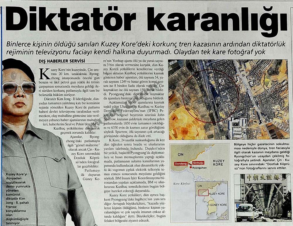 Diktatör karanlığı