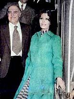 Sophia Loren geldi