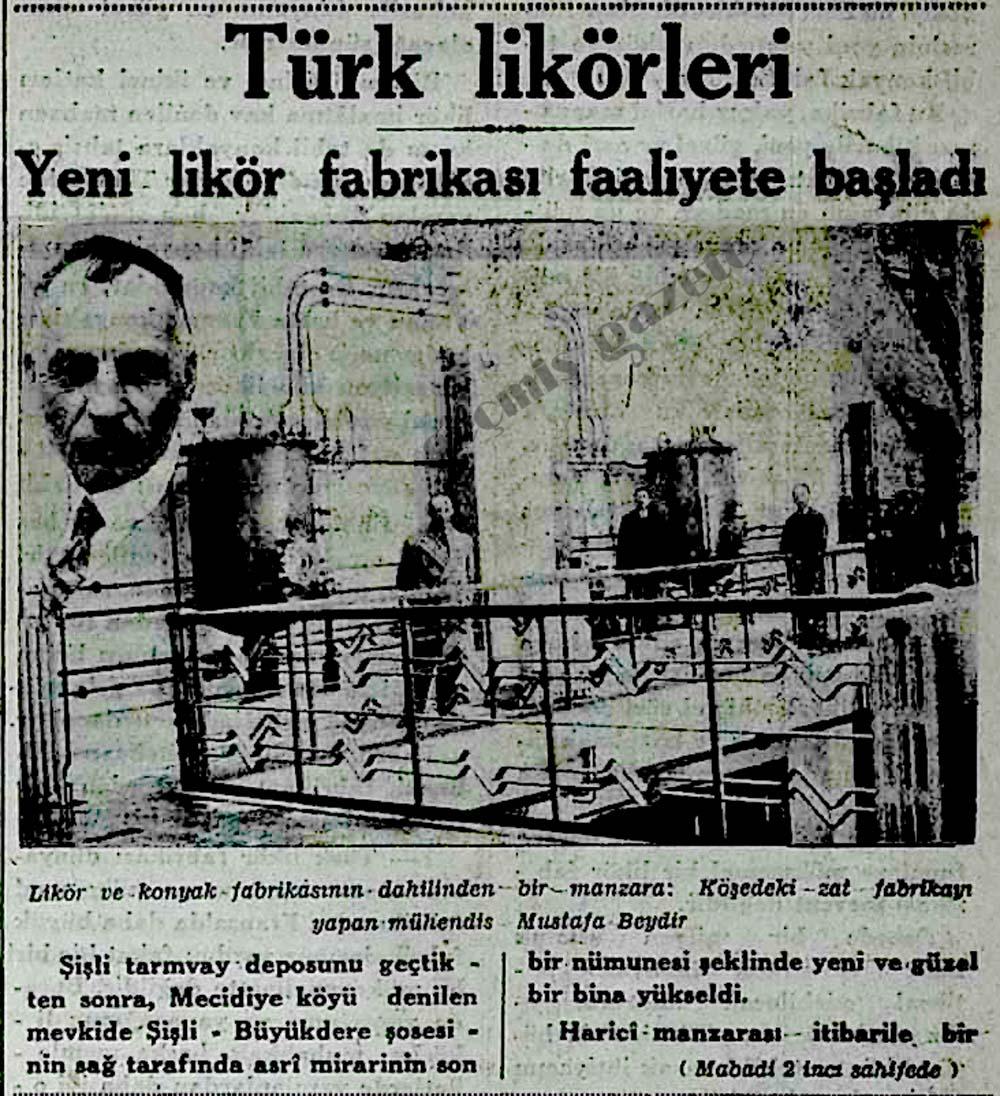 Türk likörleri: Yeni likör fabrikası faaliyete başladı