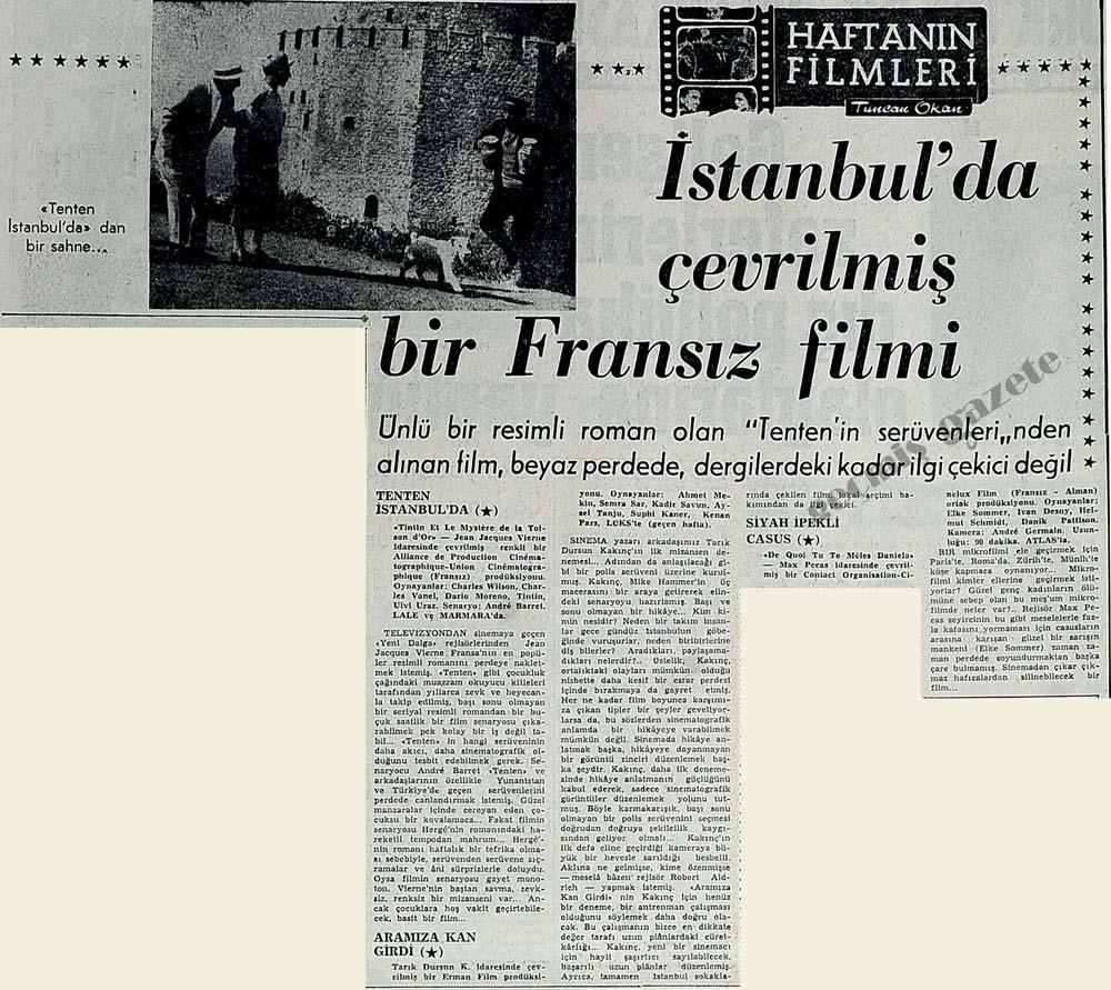 Tenten İstanbul'da