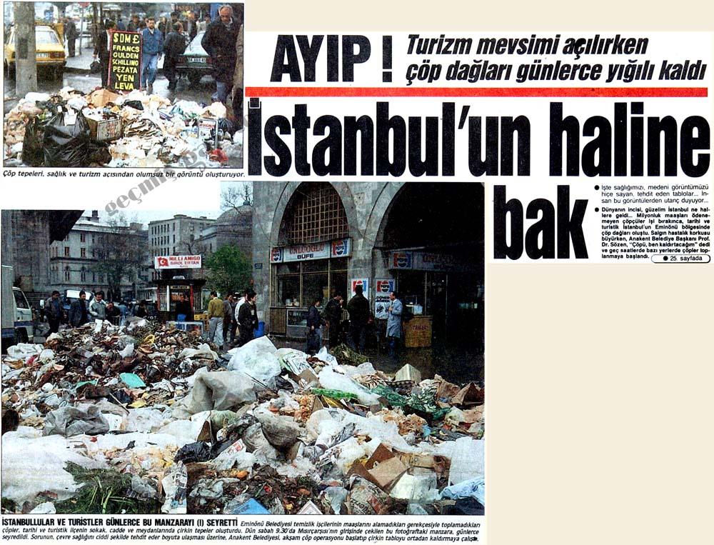 Ayıp! İstanbul'un haline bak