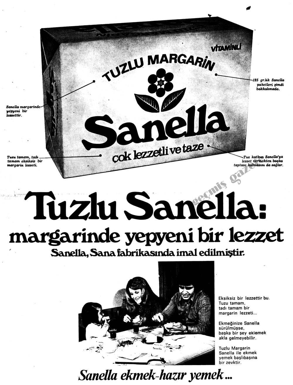 Tuzlu Sanella: margarinde yepyeni bir lezzet