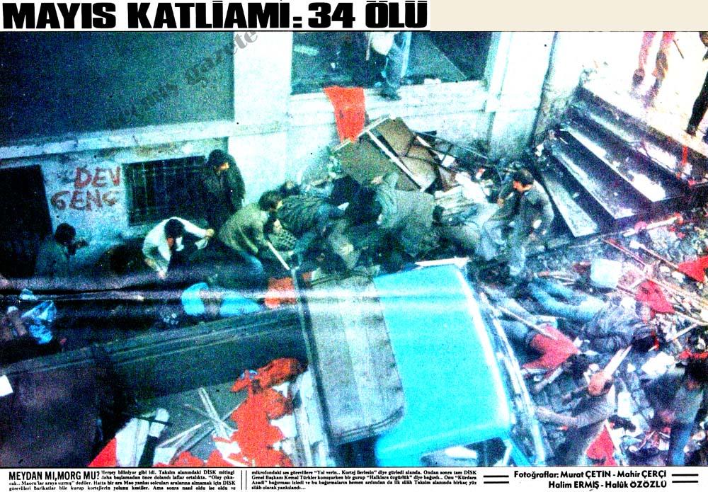 Mayıs Katliamı: 34 ölü