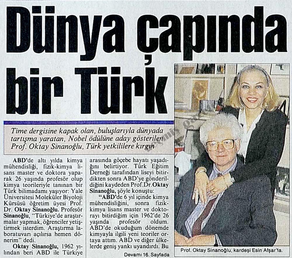 Dünya çapında bir Türk