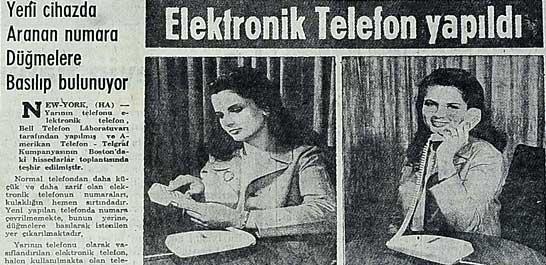 Elektronik Telefon yapıldı