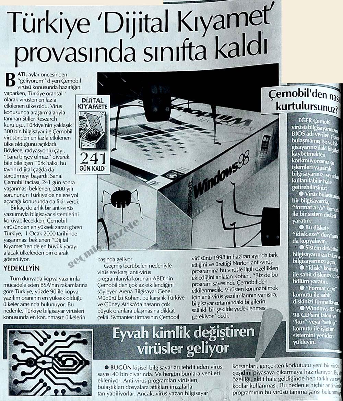 Türkiye 'Dijital Kıyamet' provasında sınıfta kaldı