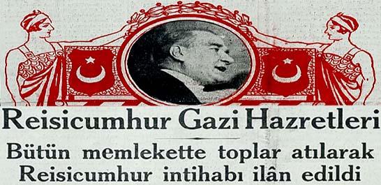 Gazi Hz. 289 reyle 3 üncü defa Reisicumhurluğa intihap edildi