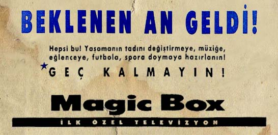 Magic Box birinci televizyon kanalı