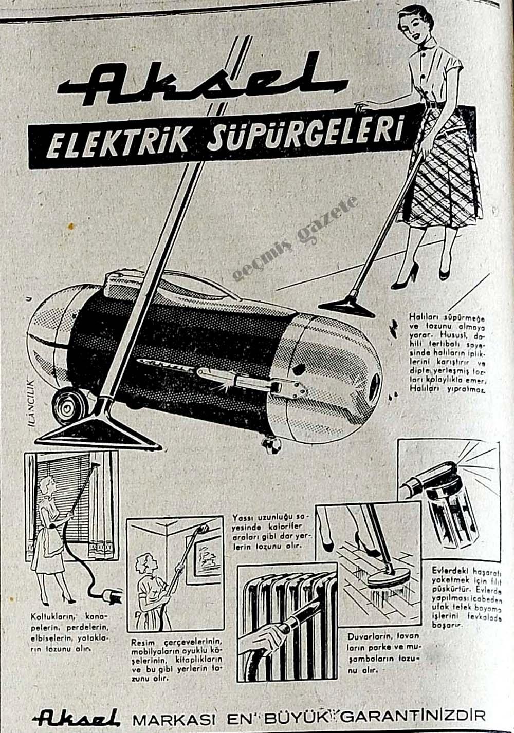 Aksel Elektrik Süpürgeleri