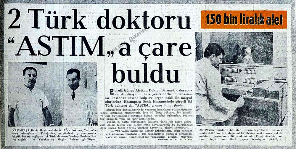 """2 Türk doktoru """"Astım"""" a çare buldu"""