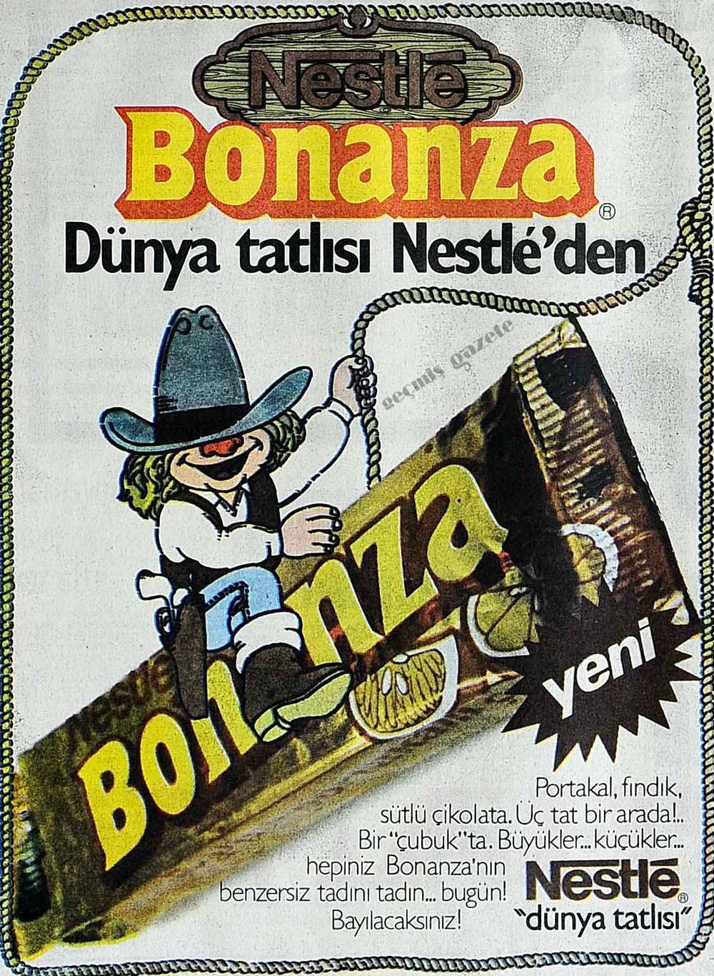 Nestle Bonanza Dünya tatlısı Nestle'den