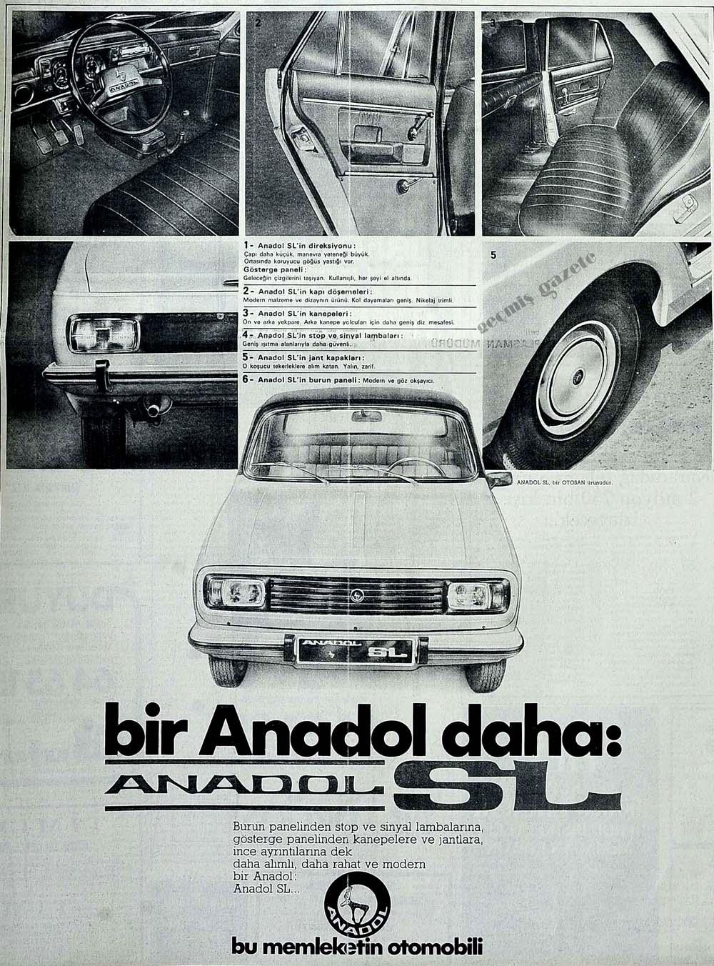 Bir Anadol daha: Anadol SL